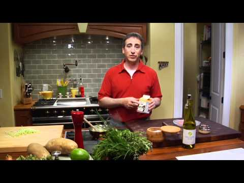 Making A Leek Cream Sauce-Chef Keith Snow