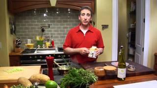 Making A Leek Cream Sauce-chef Keith Snow