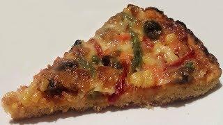 Пицца из кукурузной муки без дрожжей