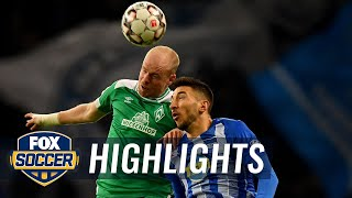 Hertha BSC Berlin vs. Werder Bremen | 2019 Bundesliga Highlights