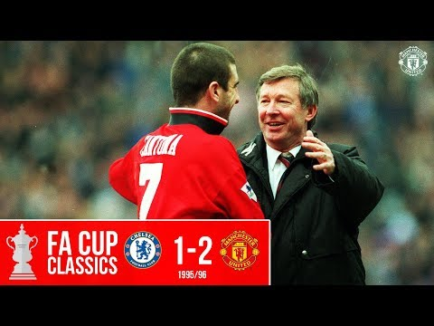 FA Cup Classic | Chelsea 1-2 Manchester United (1996) | Cole & Beckham send United to Wembley
