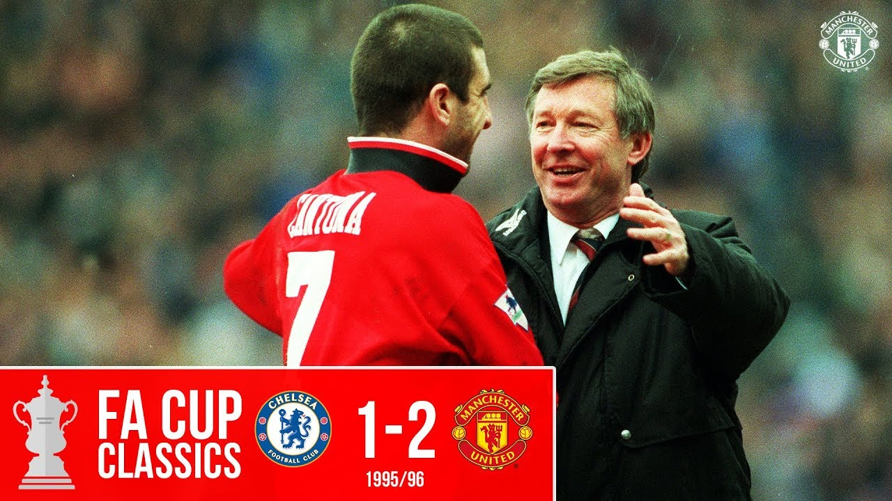 Download FA Cup Classic   Chelsea 1-2 Manchester United (1996)   Cole & Beckham send United to Wembley