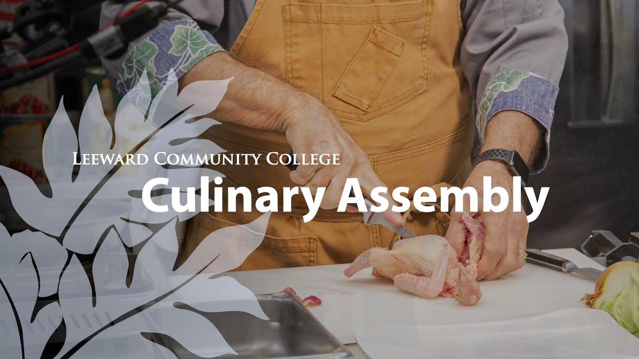 Culinary Arts Leeward Community College 2021
