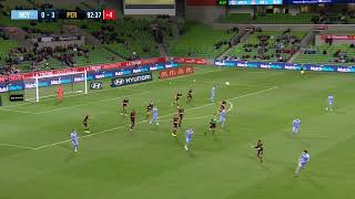 Hyundai A-League 2019/20: Round 9 - Melbourne City FC v Perth Glory (Full Game)