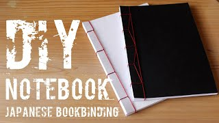 DIY - Notebook: japanese bookbinding || Back to School