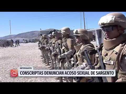 Conscriptas denuncian a sargento de acoso sexual en Antofagasta
