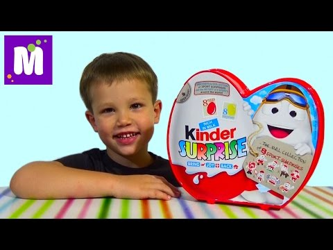 Видео: Киндерино Спорт набор сюрпризов распаковка Kinder Surprise