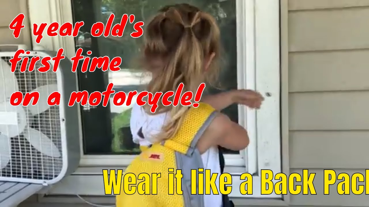 Breathable Material Jolik Child Motorcycle Safety Harness with 4-in-1 Buckle