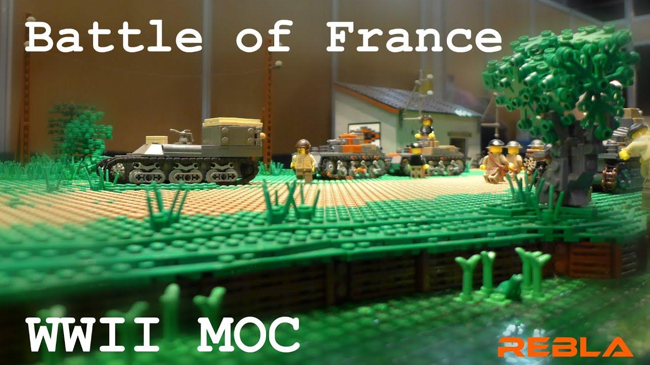 Lego wwii battle of france hardenberg 2015 youtube for Siege lego france