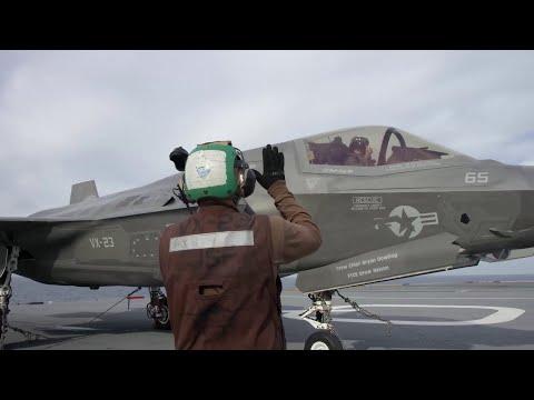 Meet the Team Supporting the HMS Queen Elizabeth F-35B Trials - Part 1