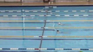 Соревнования Настюшки в в бассейне Труд