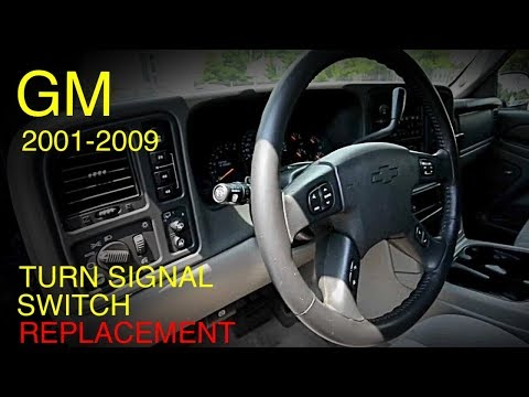 Gm Multi-Function Turn Signal Switch Replacement 2001-2009