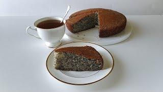 Маковник😍 Пирог, который влюбляет в себя😍🍒❤😃