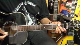 Tampa Red IT HURTS ME TOO 1940 True Blues Guitar Lesson EricBlackmonMusicHD