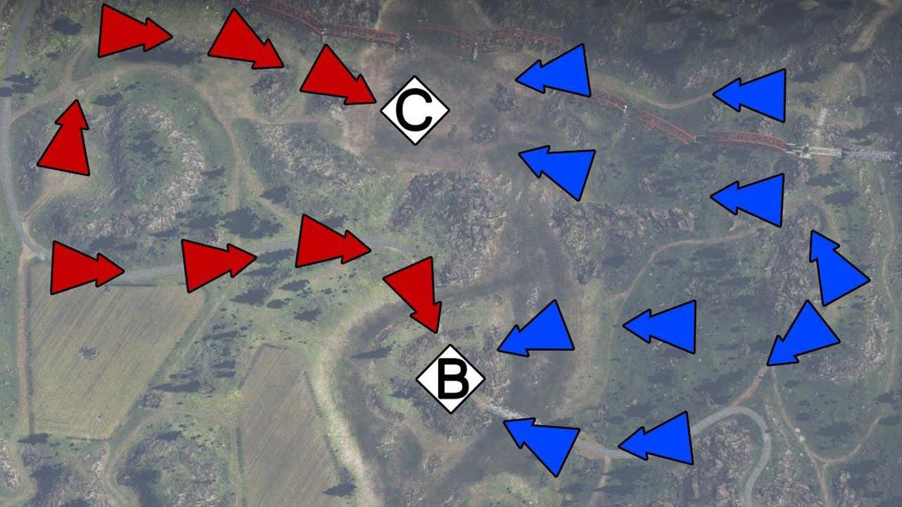 вар тандер тактическая карта
