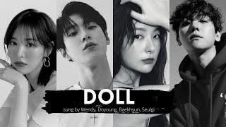 Download DOLL(인형) sung by BAEKHYUN(백현)&DOYOUNG(도영)&WENDY(웬디)&SEULGI(슬기)