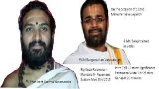 [High Quality] 2 Pavamana Suktam Parayanam Ft.  Phanikant ji, Varadarajan ji, Balaji Sir thumbnail