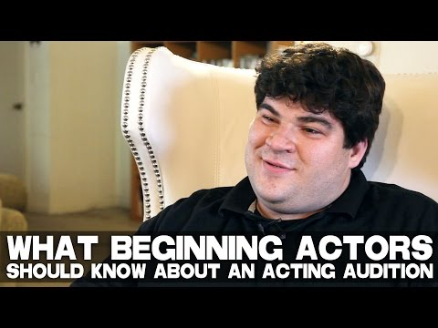 What Beginning Actors Should Know About An Acting Audition by Michael Barra