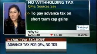 QFIs may soon be exempted from withholding tax on cap gains