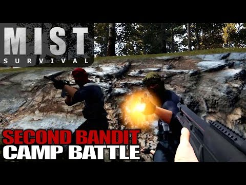 SECOND BANDIT CAMP BATTLE | Mist Survival | Let's Play Gameplay | S01E14