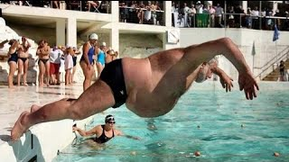 Most Funny Pool Diving Board Fails Compilation