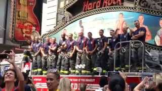FDNY RELEASES OFFICIAL 2016 CALENDAR OF HEROES
