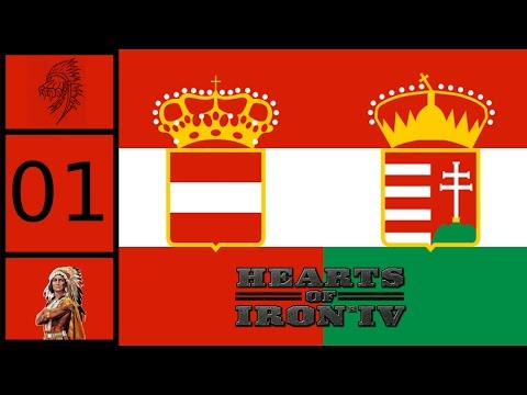 Hearts of Iron IV | Austria-Hungary Co-op | Austro-Hungarian Empire #1