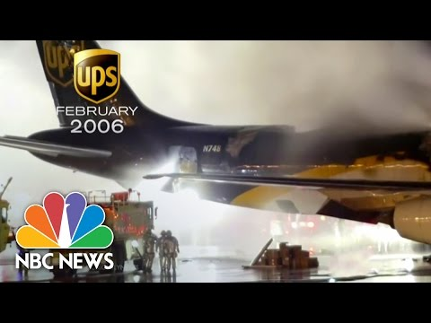 Lithium Batteries Threaten Cargo Planes | NBC News