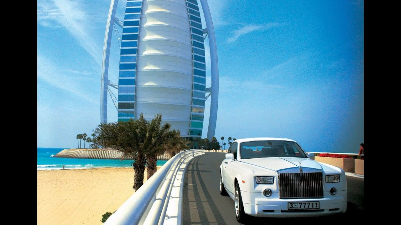 Burj Al Arab 7 Star Hotel In Dubai Youtube: dubai hotel pictures 7 star
