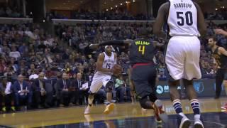 Vince Carter One-Handed Jam | Hawks vs Grizzlies | 3.11.17 | 16-17 NBA Season