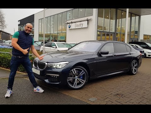 Collecting My New BMW 740LD xDrive M Sport 2018 - Joe Achilles