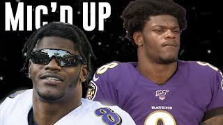 Lamar Jackson Best Mic'd Up & Funny Moments of MVP Season
