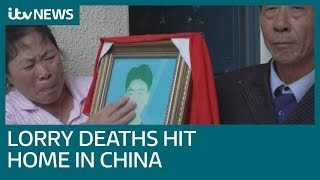 Essex lorry deaths again expose a thriving dark trade in China | ITV News