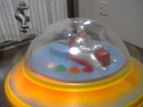 香港製、電動ミステリー走行UFO (SPACE SHIP DB-2 hong kong made)