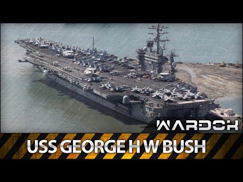 Строительство USS George H W Bush | WARDOK