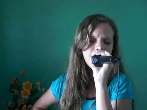 Nicole cantando Porque Te amo.mov