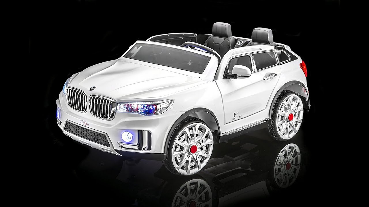 SPORTrax BMW X7 Style Kids Ride On Car 2 Seater Battery Powered Remote Control