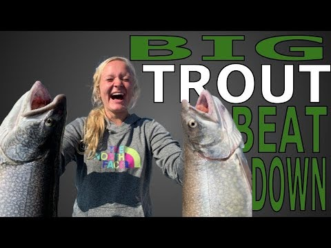 Trout And Salmon Fishing On Lake Michigan ON A PONTOON!?!?! (It's Pretty Sweet!)