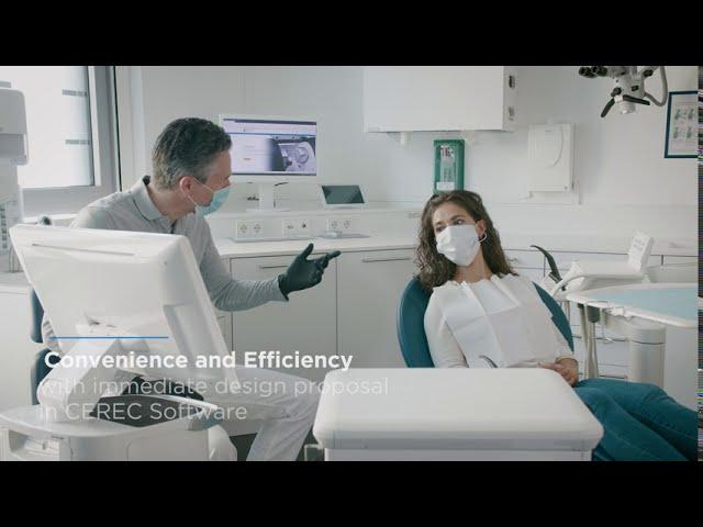 CEREC - Οδοντιατρική σε μια επίσκεψη για μέγιστη ασφάλεια, δική σας και των ασθενών.