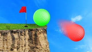 MOST BRUTAL GOLF COURSE! (Golf It Funny Moments)