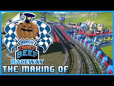 The Making Of: Chief Beef Raceway - Lets Build 05 #PlanetCoaster