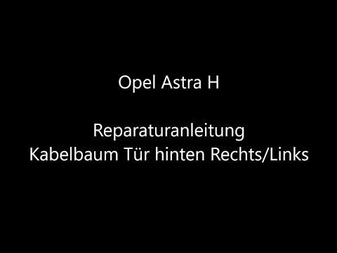 REPARATURSATZ KABELBAUM TÜRE HINTEN OPEL