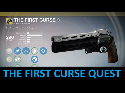 Destiny - The First Curse Quest - Gunsmith Rank 5