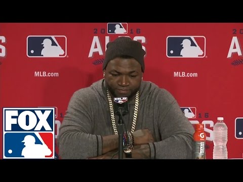 David Ortiz thanks fans after his retirement from baseball