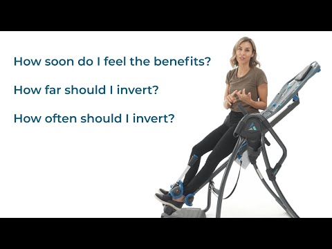 How Long And How Often To Use An Inversion Table
