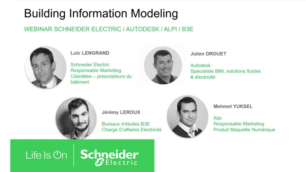 [Webinar] BIM (Building Information Modeling) - Evolutions et cas d'usages | Schneider Electric
