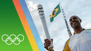 From day 1 to 37, go behind the scenes of olympic torch relay as flame makes it's way around brazil.subscribe official cha...
