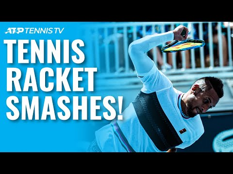 The Most Epic Tennis Racket Smashes!