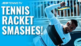 The Most Epic Tennis Racket Smashes! YouTube Videos
