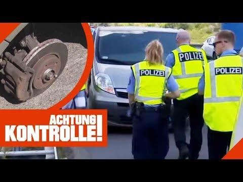 Horrorszenario: Reifen verloren! Autobahn-Großeinsatz der Polizei!   Achtung Kontrolle   Kabel Eins